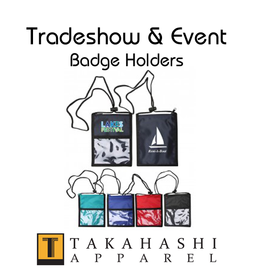 Apparel Badge Holders