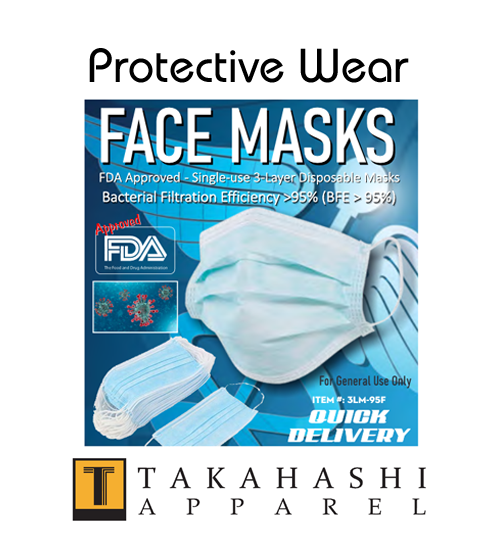 Apparel Protective Face Masks