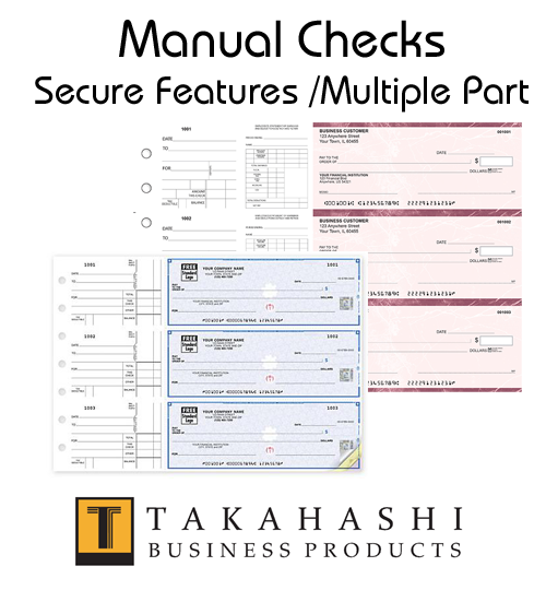 Business Manual Checks