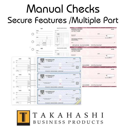Business Manual Checks