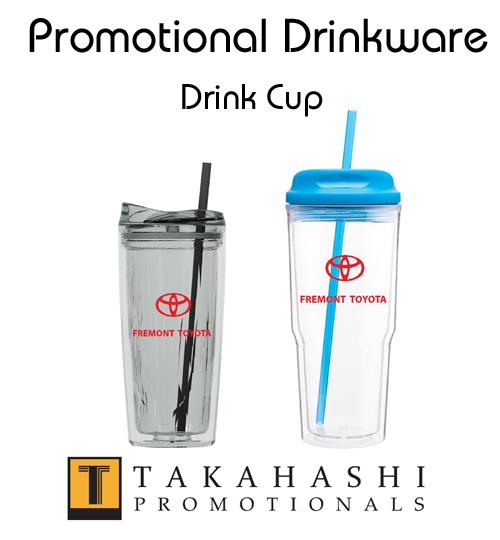 Drinkware cups