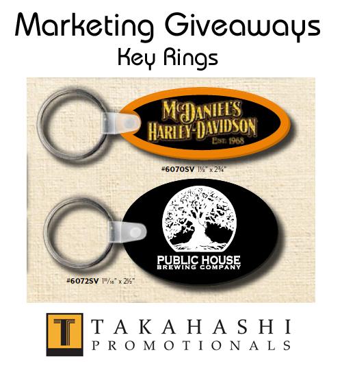 Marketing Giveaways Key Rings