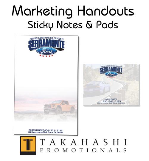 Promotional Sticky Notes-Pads