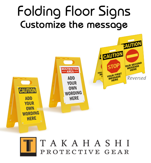 Protective Floor Sign