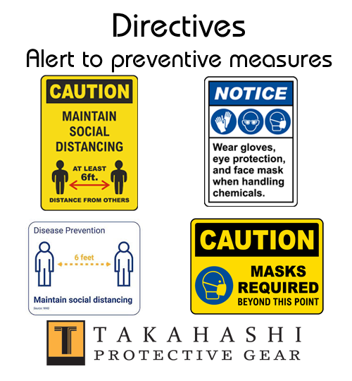Protective Signs Directives