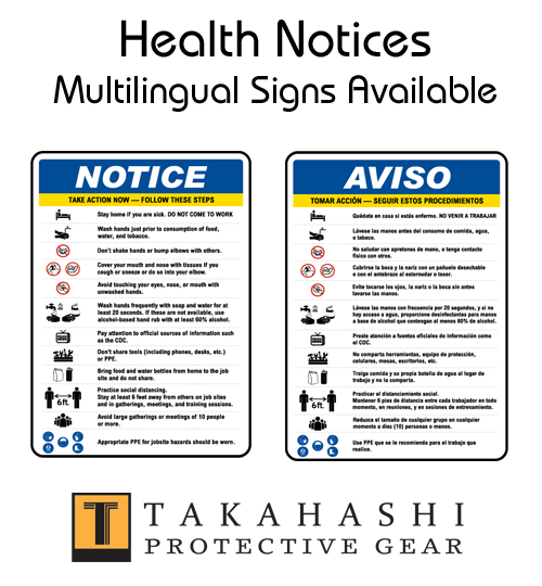 Protective Signs Multilingual